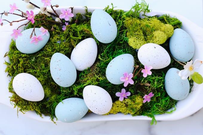 diy painted eggs