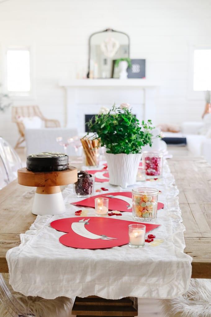 valentines tablescape idea