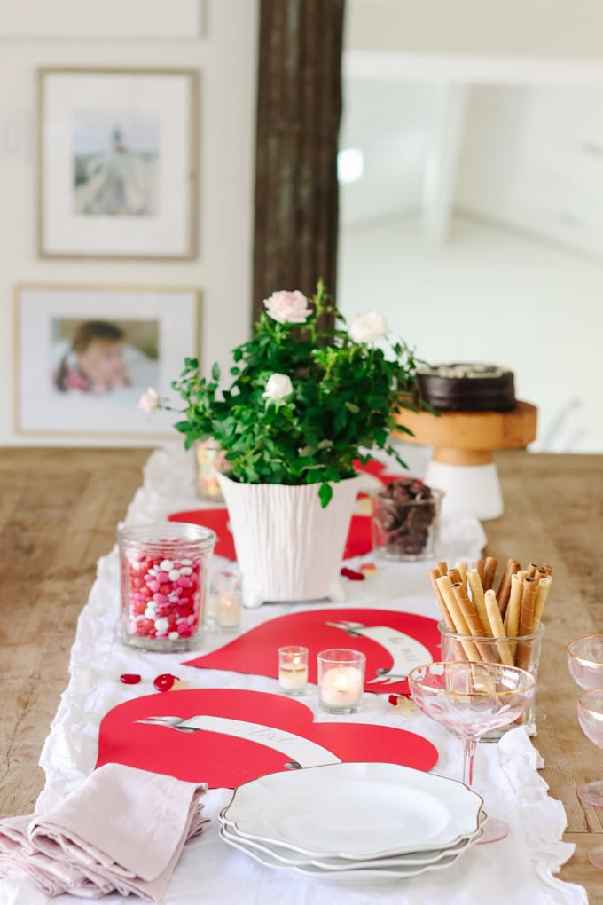 valentine's day table idea