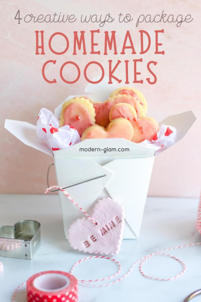 creative ways to package homemade cookies
