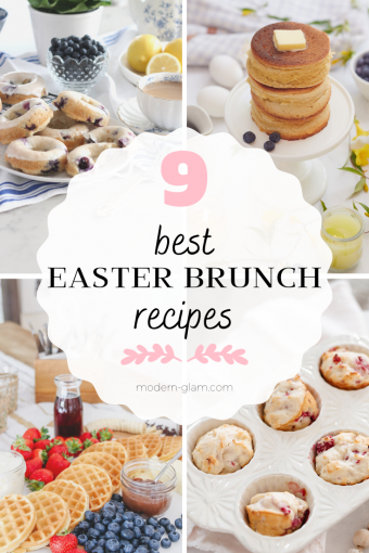 9 of the best easter brunch recipe ideas