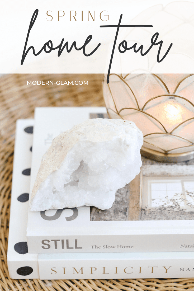 how to update your home for spring via @modernglamhome