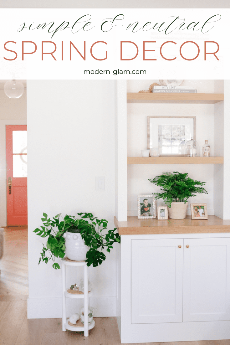 spring home tour via @modernglamhome