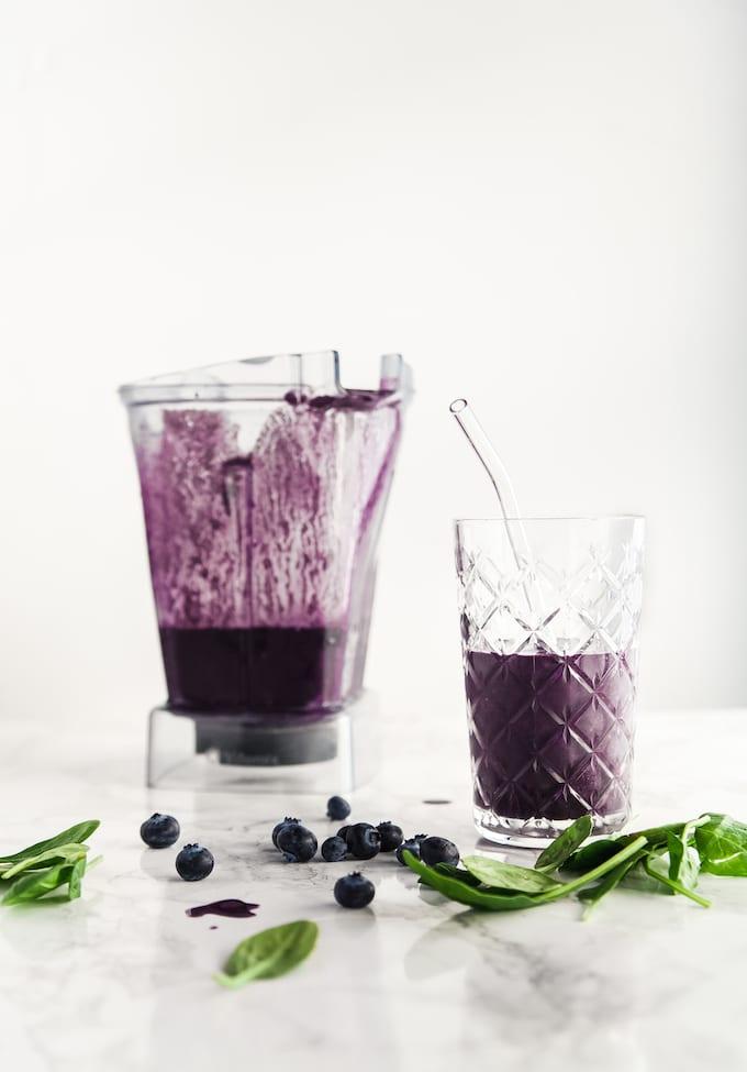 best blueberry spinach smoothie