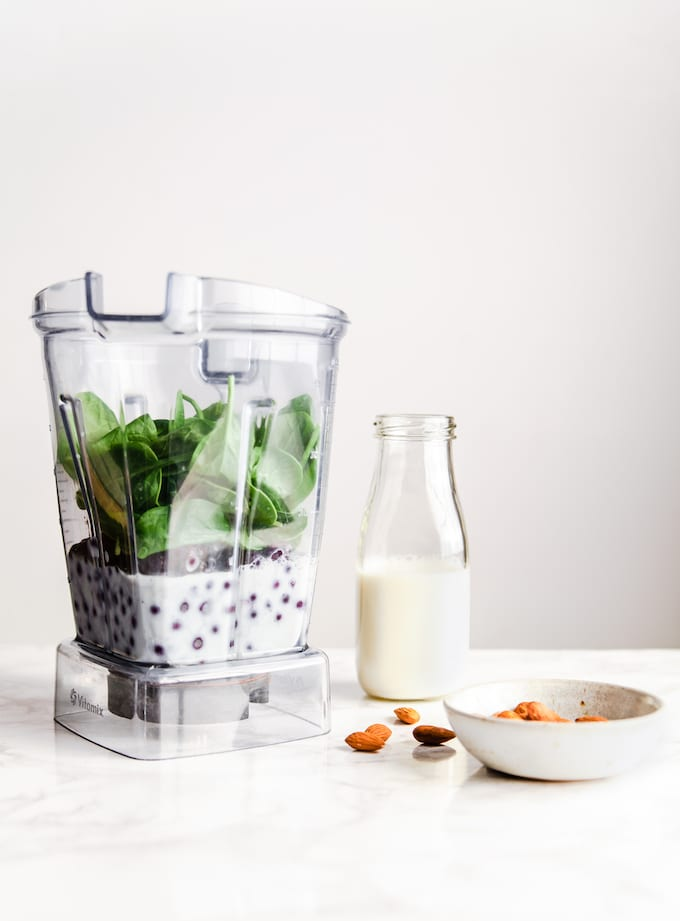 best blueberry spinach smoothie