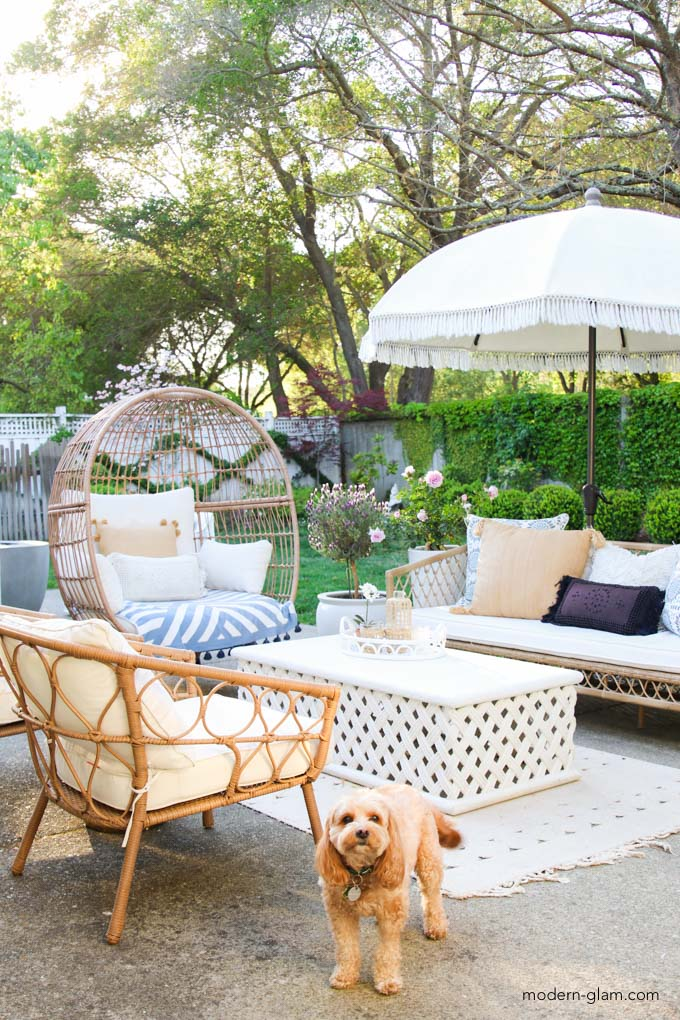 how to decorate your patio for summer