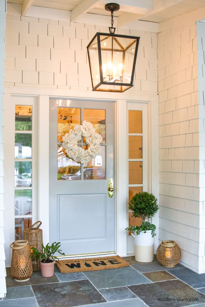 front porch living idea