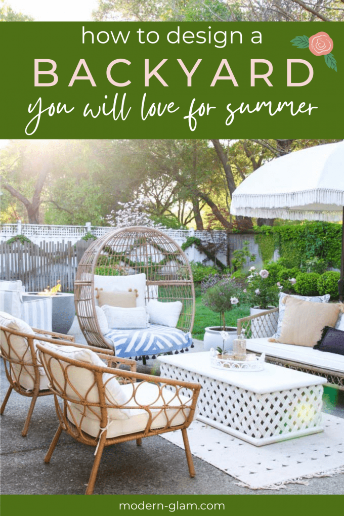 how to design a backyard your will love