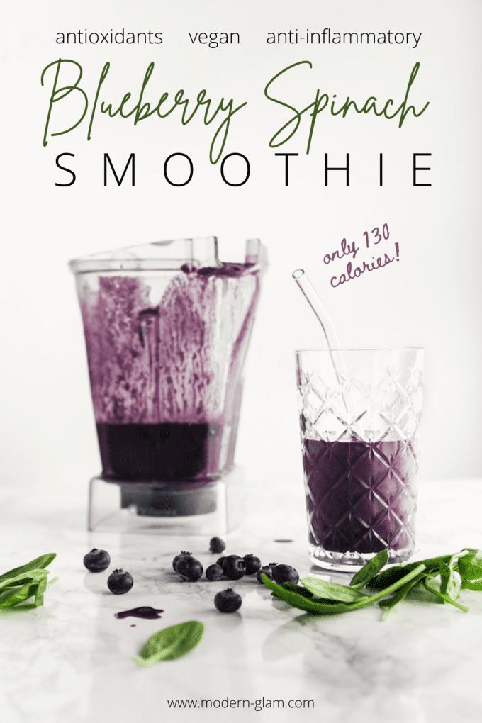 vegan blueberry smoothie recipe