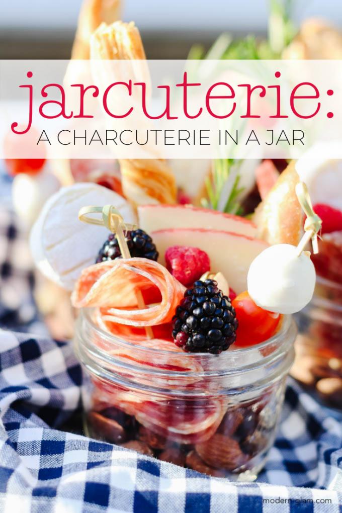 charcuterie in a jar