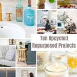 repurposed and upcycling home decor ideas