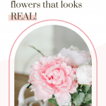 how to make a bouquet with fake flowers