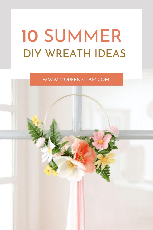 diy wreath ideas via @modernglamhome