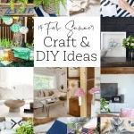 14 craft ideas for summer