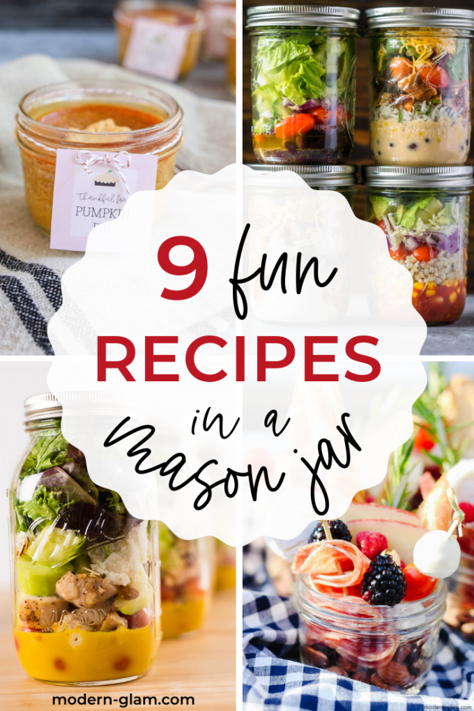 mason jar recipe ideas