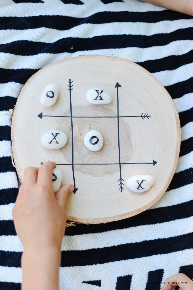 diy tic tac toe game board