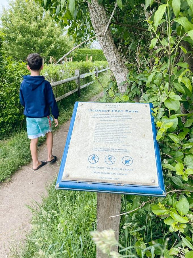 Sconset Bluff Walk