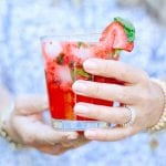 strawberry basil cocktail recipe