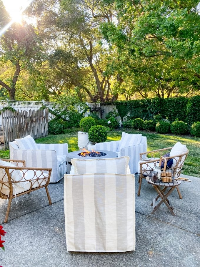 outdoor entertaining ideas and tips