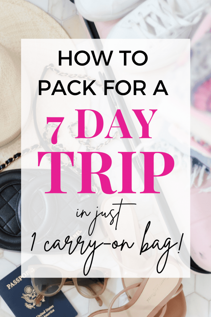 travel packing tips from a pro