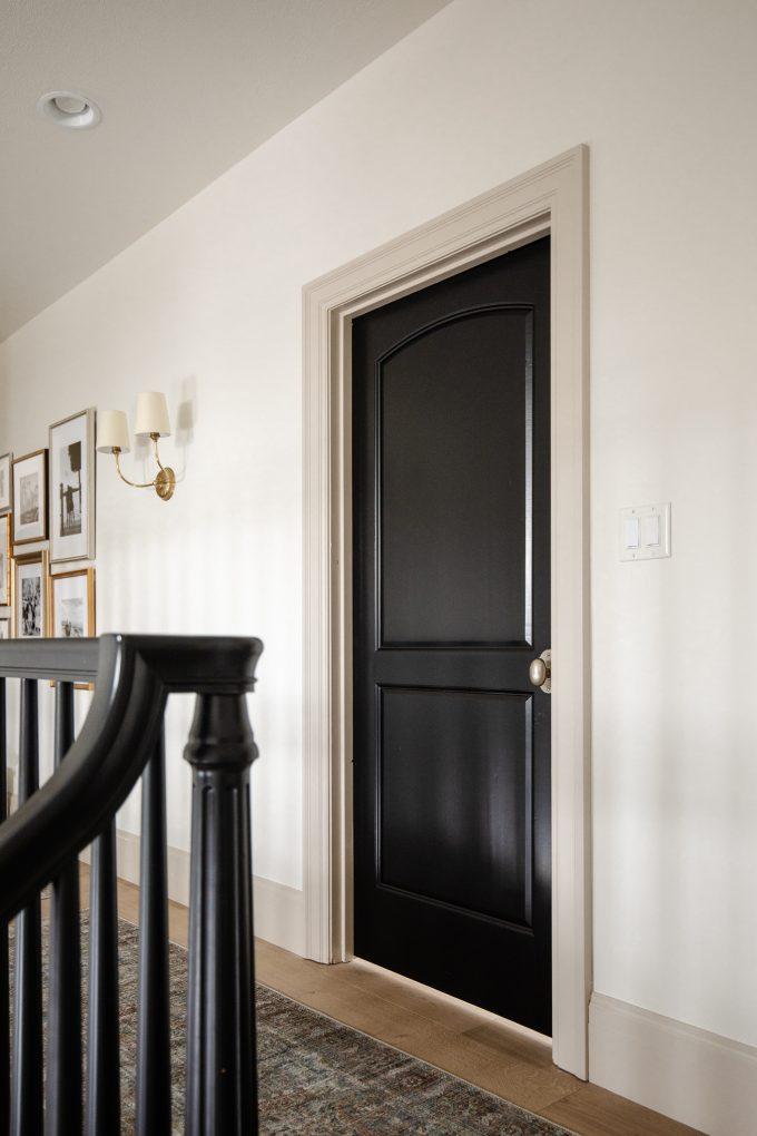 black accents in home decor