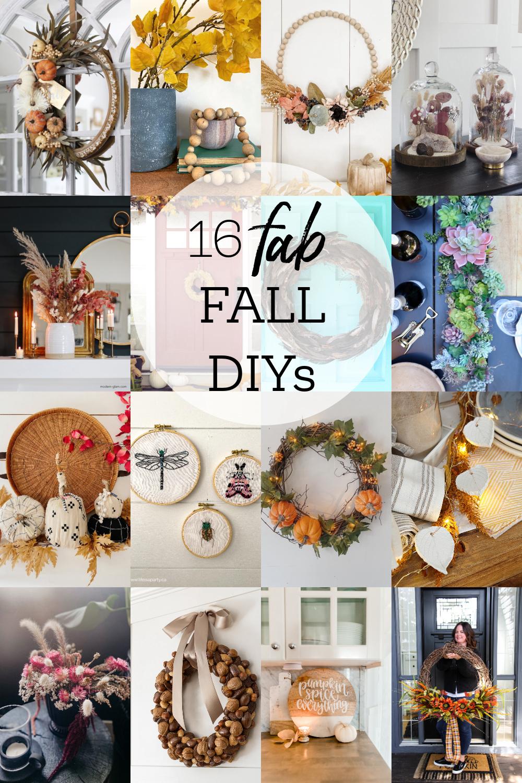16 fall diy ideas to make via @modernglamhome