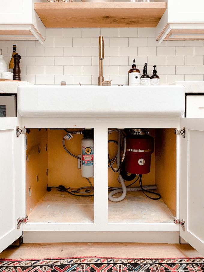 under sink cabinet organization ideas