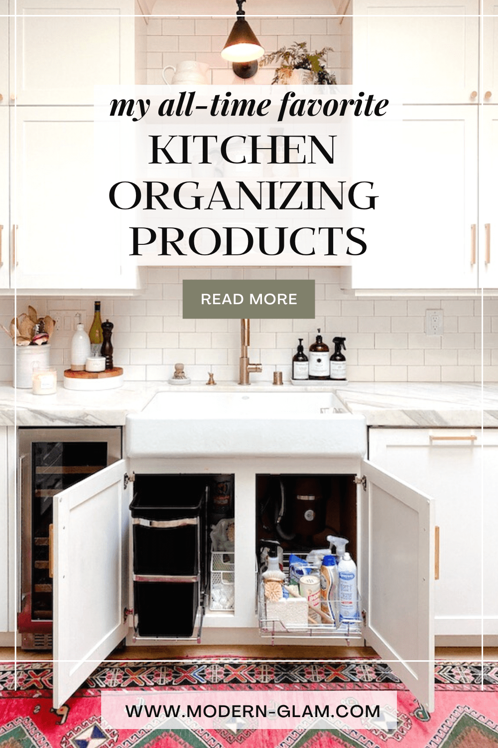 best kitchen organizing products via @modernglamhome