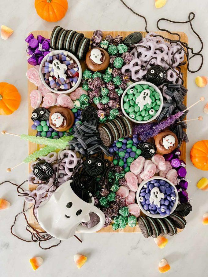 halloween candy board ideas