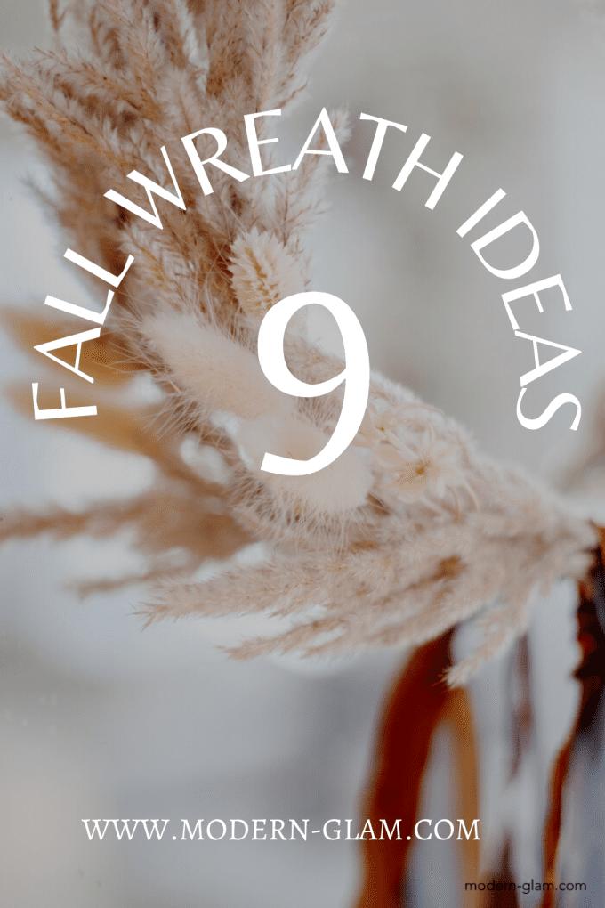 fall wreath ideas to make