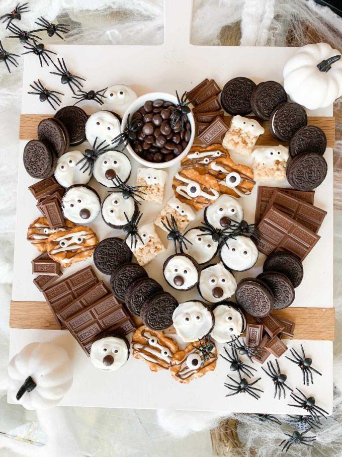 chocolate halloween board