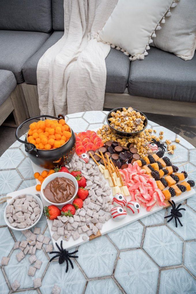 halloween snack board ideas