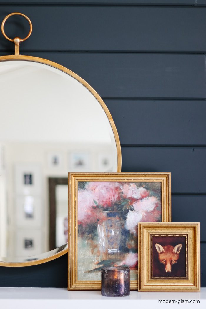 fall mantel and fireplace decor ideas