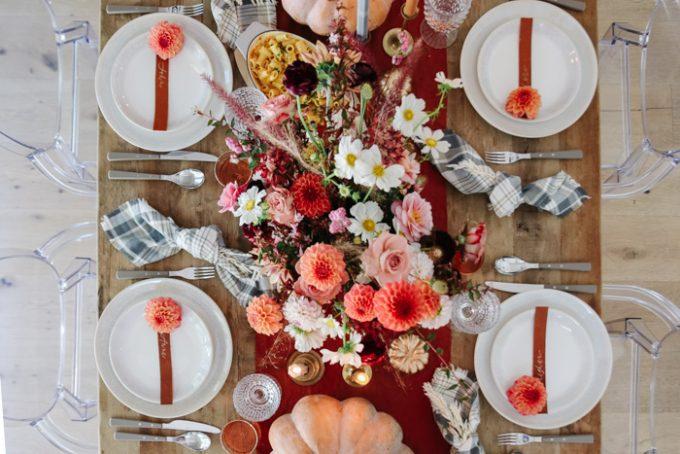 fall dinner party table ideas