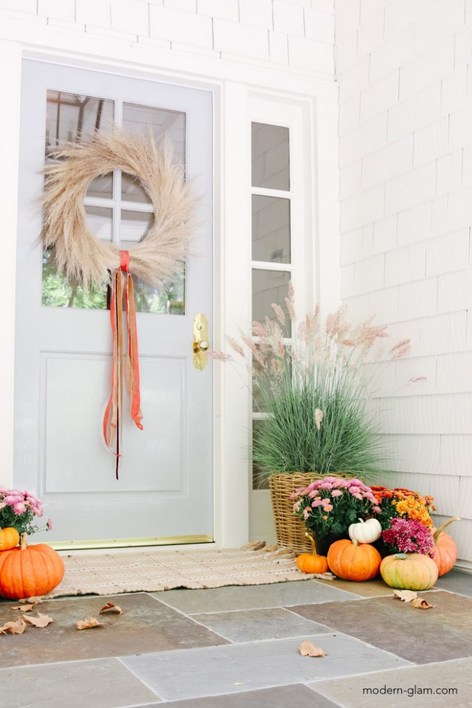 fall decorating ideas with pumpkins