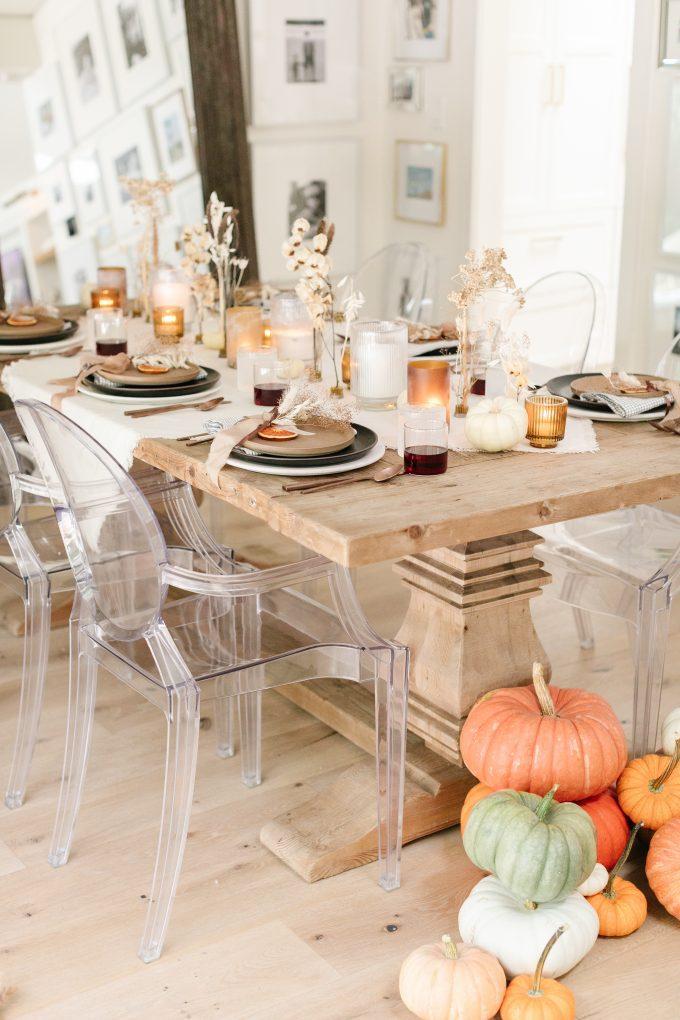 pumpkin thanksgiving decor