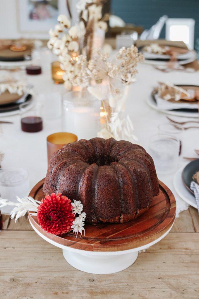 pumpkin spice bundt cake recipe