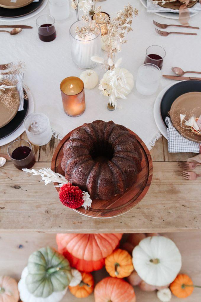 coffee lovers pumpkin cake