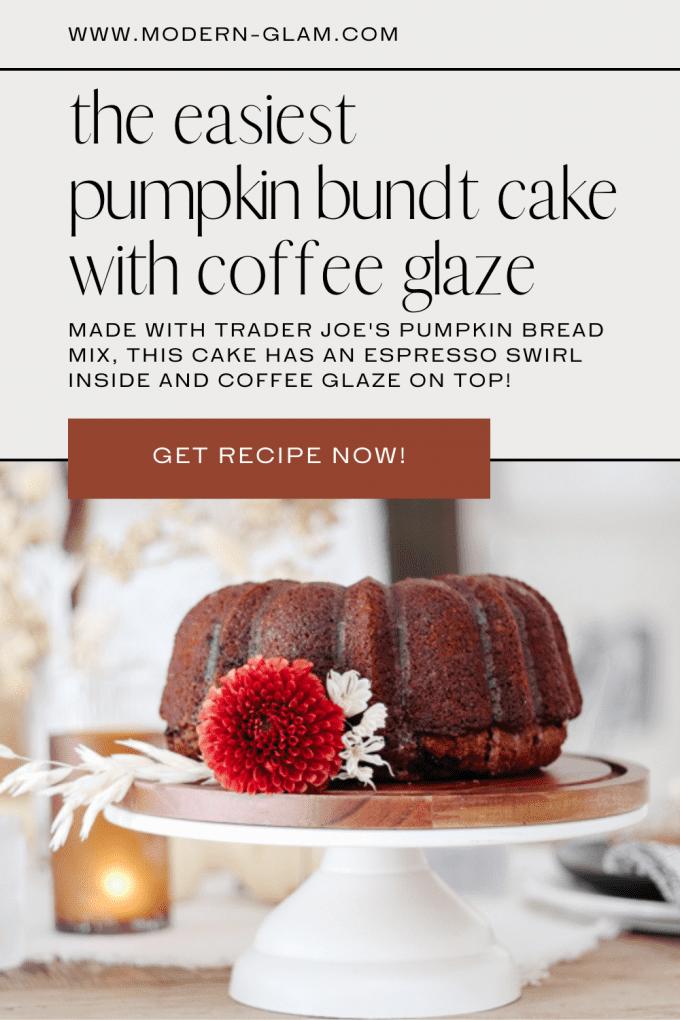 easy pumpkin bundt cake